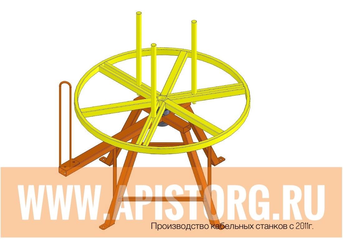 Самодельная катушка для размотки кабеля - Полезные самоделки